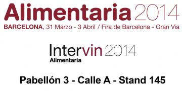 Nous vous verrons dans Alimentaria – Intervin 2014