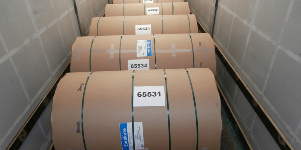 How its done an air shipment of paper coils