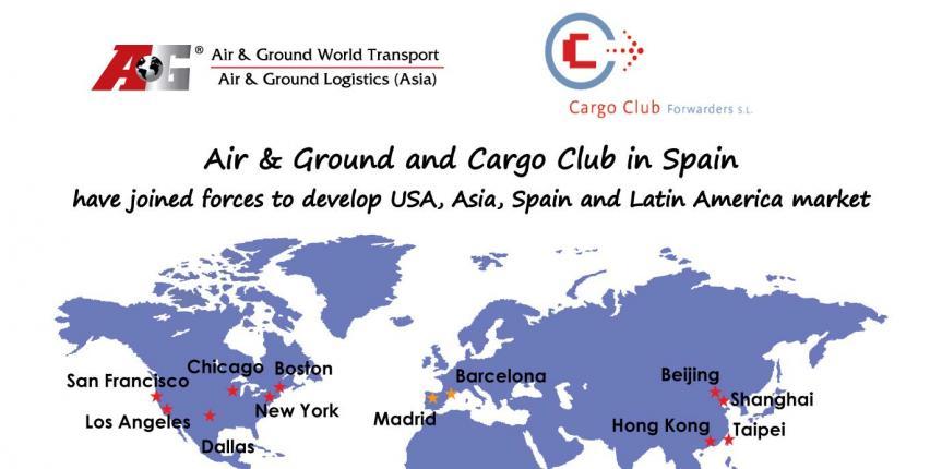 Air & Ground y Cargo Club han unido sus fuerzas