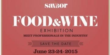 See you at SAVBOR Food & Wine Exhibition 2015
